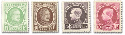 Houyoux And Small Montenez Stamps