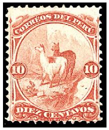 peru-1866-10c-vermilion