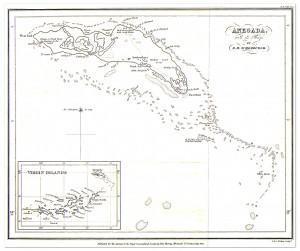 Anegada Map 1832