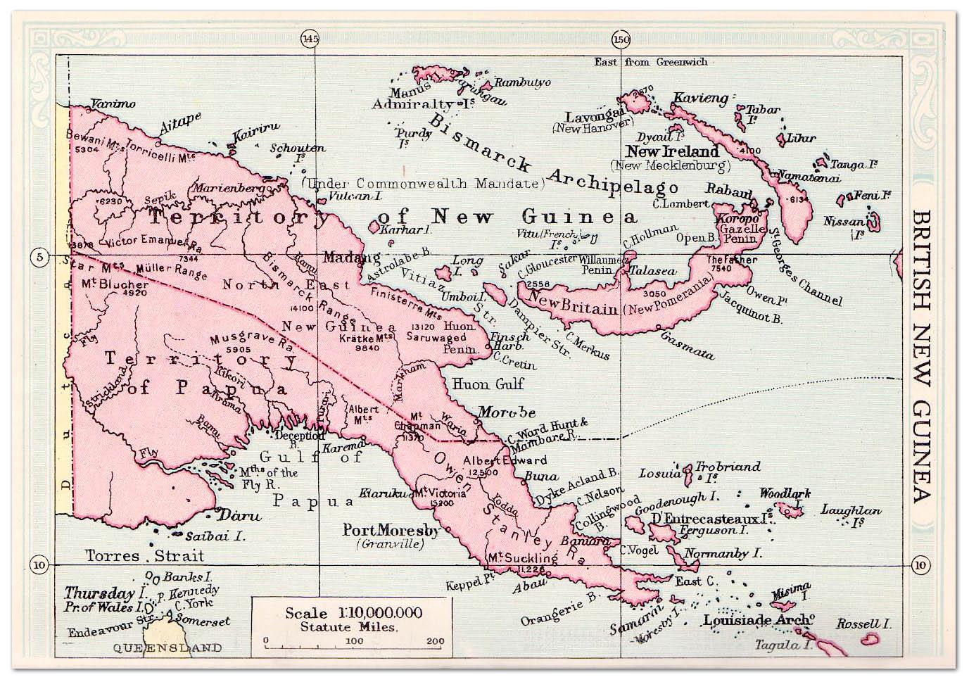 British new guinea map 1935 philatelic database british new guinea map 1935 publicscrutiny Image collections