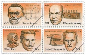 U.S 1983 Inventors Stamp Issue