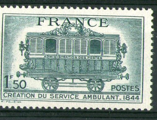 Stamps of France: Travelling Post Office Issue (1944)
