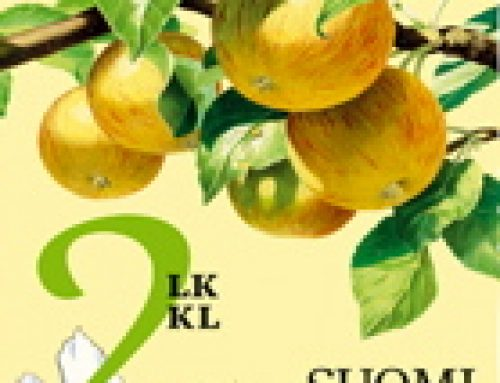 Stamps of Finland: Fruit in the Garden (2014)