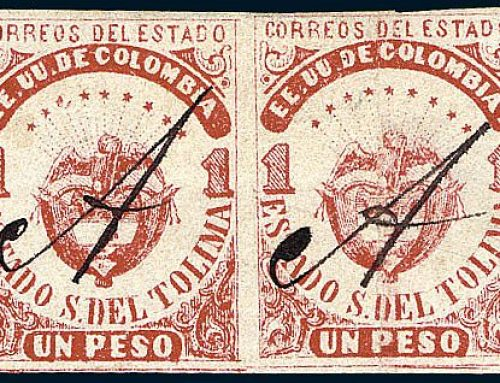 Stamps of Columbia: Tolima (1871)