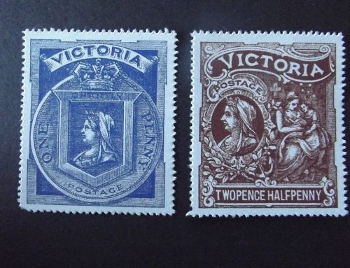 Stamps of Victoria: Hospital Charity (1897)