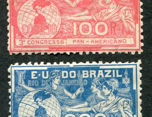 Stamps of Brazil: Pan-American Congress (1906)