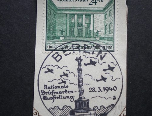 Stamps of Germany: 2nd Berlin Philatelic Exhibition (1940)