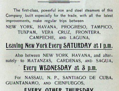 New York-Cuba Shipping Line (1909)