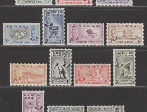 Falkland Islands Stamps: George VI Issue (1952)