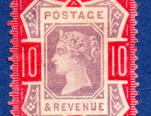 Stamps of Great Britain: 10 Pence (1890)