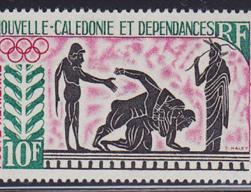 Stamps of New Caledonia: Tokyo Olympics (1964)