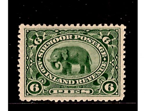 Stamps of Sirmoor: Elephant Issue (1895)