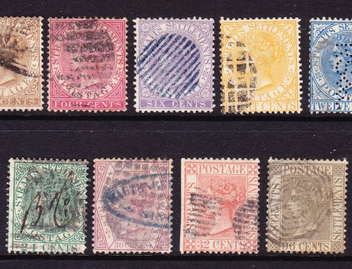 Straits Settlements: First Issues (1867-72)