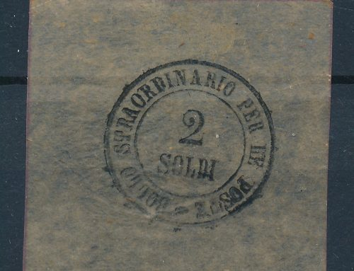 Stamps of Tuscany: 2 Soldi (1864)