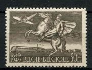 Belgium Postal transport 1951