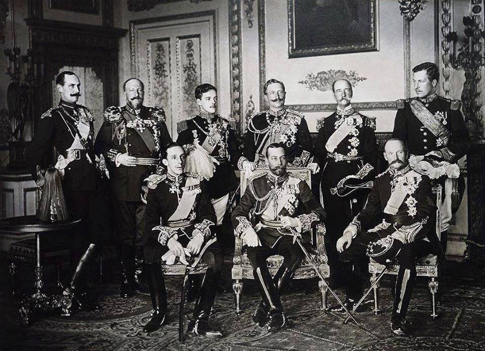 Reigning Monarchs of Europe 1910