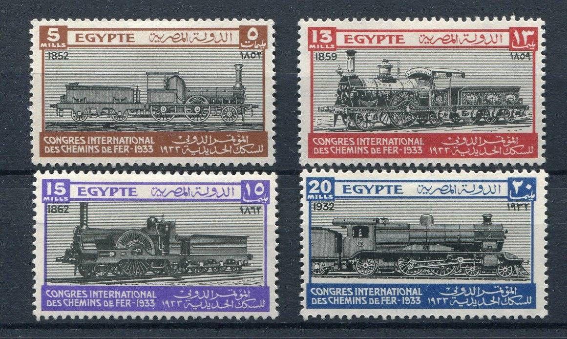 Egypt Railways 1933