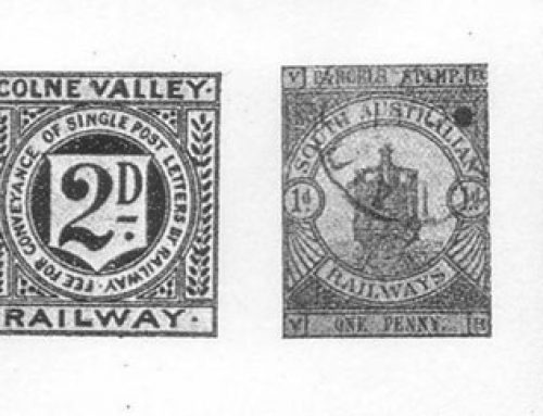 Railway Newspaper and Parcel Stamps (1899)