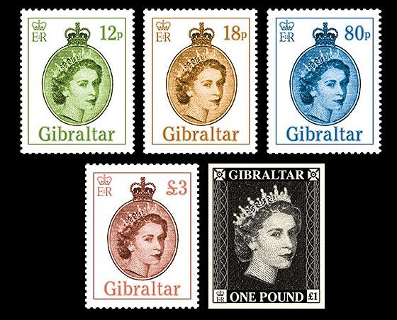 Gibraltar Definitives 2015