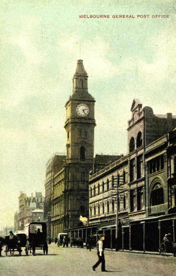 GPO Melbourne  1907