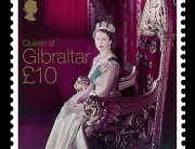 Gibraltar Elizabeth Monarch 2015