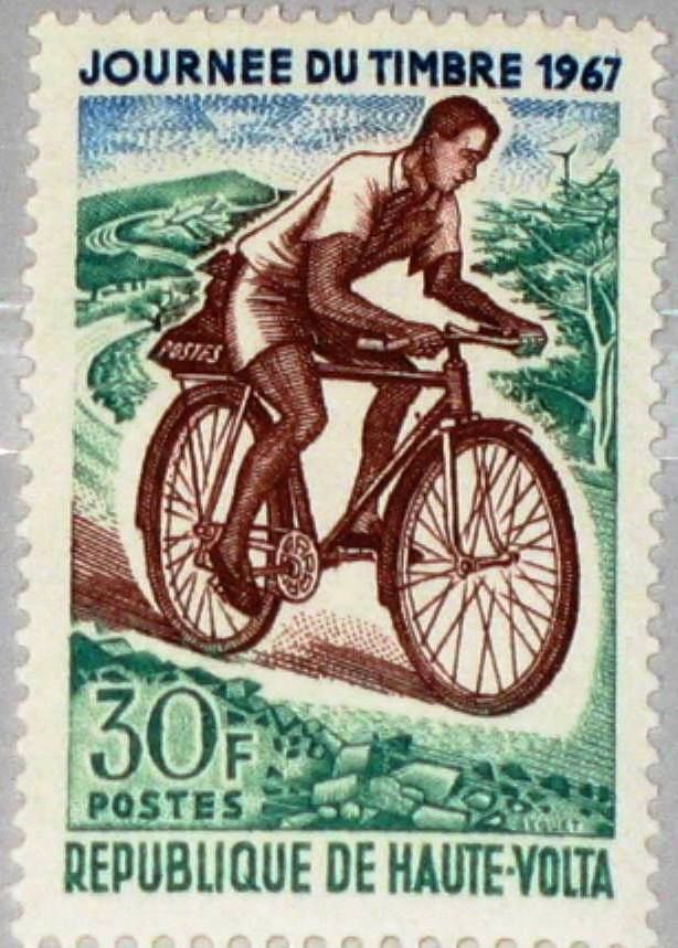 upper volta stamp day