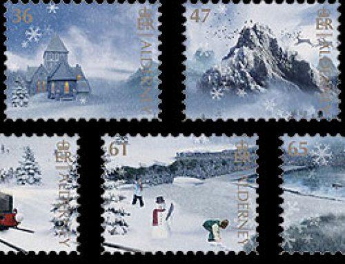 Stamps of Alderney: Winter Wonderland  (2011)