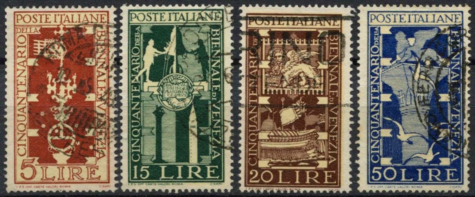 Italy Art exhibition 1949