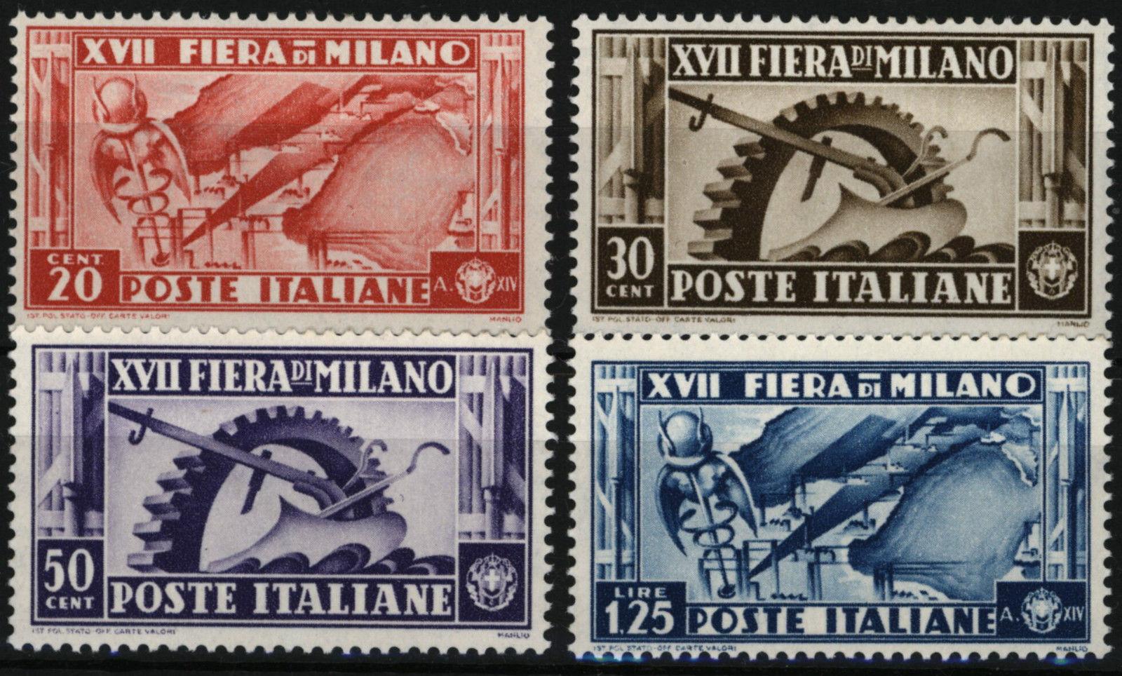 Italy Milan Fair 1936