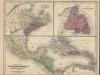 Map Newfoundland NS NB West idies 1844