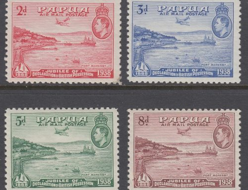 Stamps of Papua: Airmail Issue (1938)