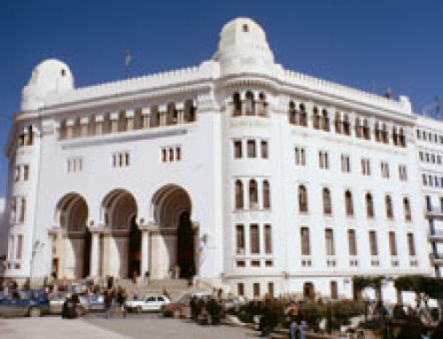 The Chief Post Office Algiers, Algeria ( built 1910)
