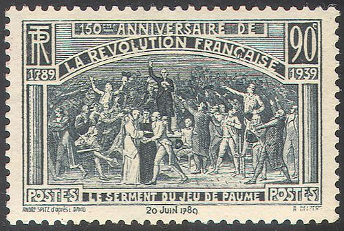France French revolution 1939