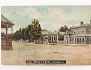 PO Creswick early 1900s