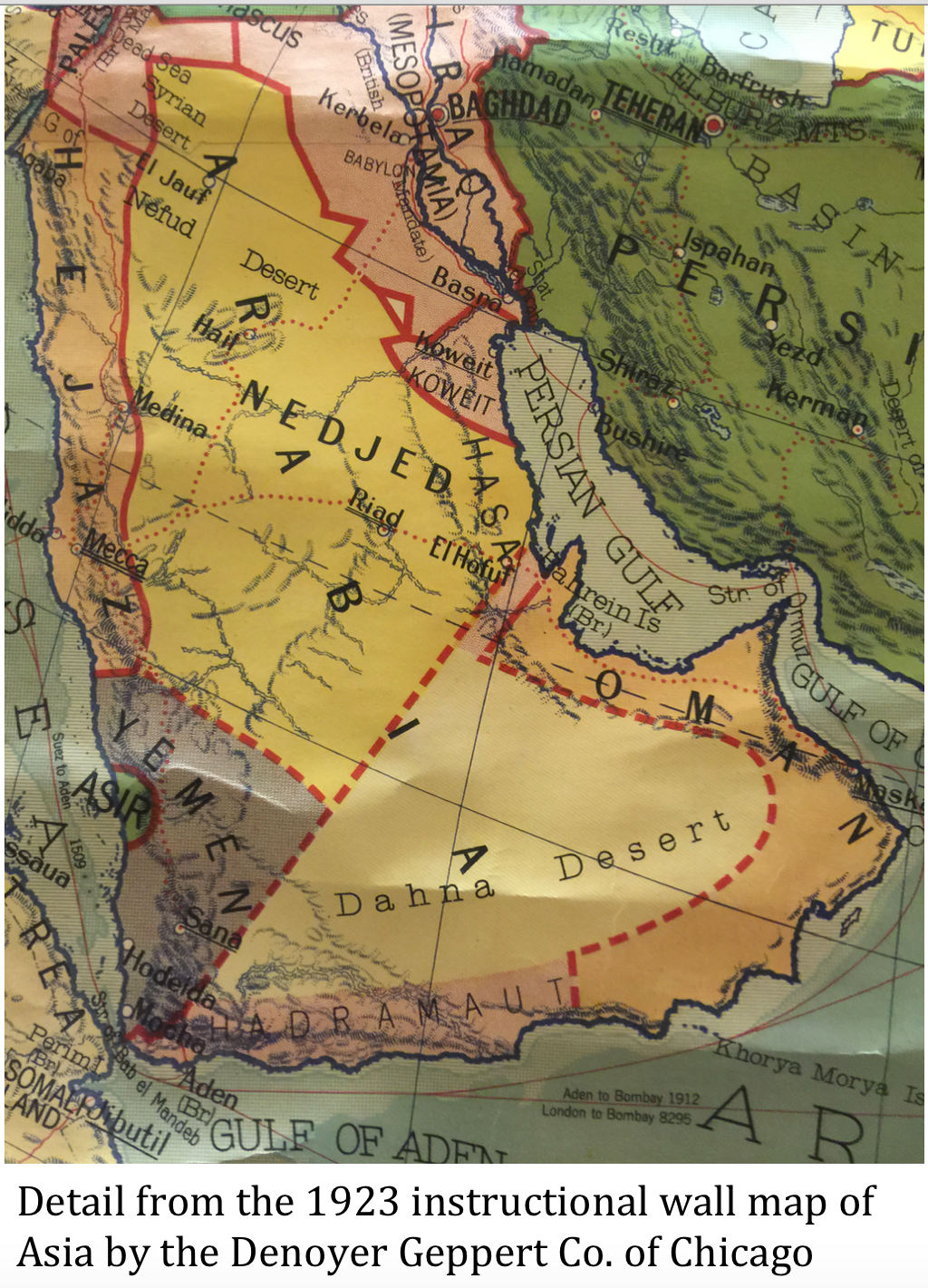 1923-Arabia-Map