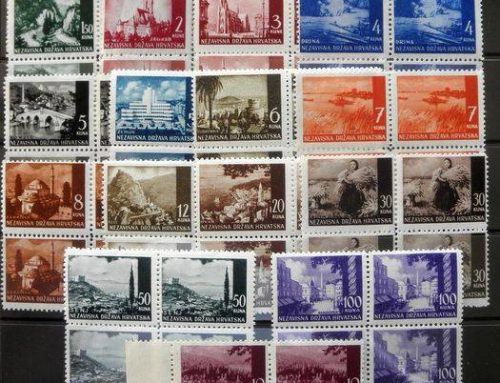 Stamps of Croatia: Nazi Occupation (1941-2)