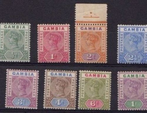 Stamps of the Gambia: Queen Victoria Issues (1898)