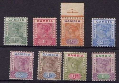 Gambia 1898