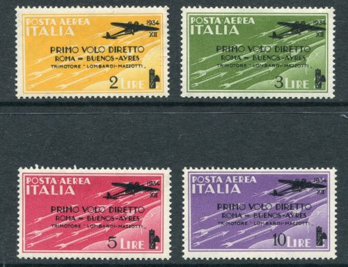 Stamps of Italy: Buenos Aires Flight (1934)