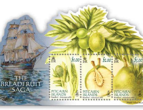 Pitcairn Islands Stamps: Breadfruit Saga (2015)