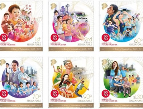 Stamps of Singapore: Independence Anniversary (2015)