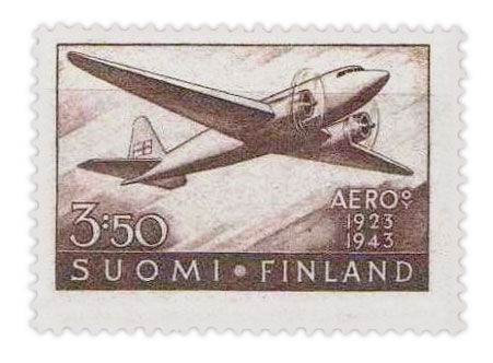 stamps-of-finland-20th-anniversary-of-air-mail-service-1944