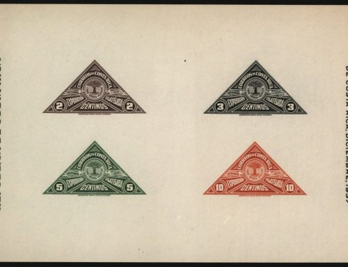 Stamps of Costa Rica: National Philatelic Exhibition (1937)