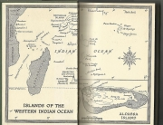 Map Islnads Eastern Indian