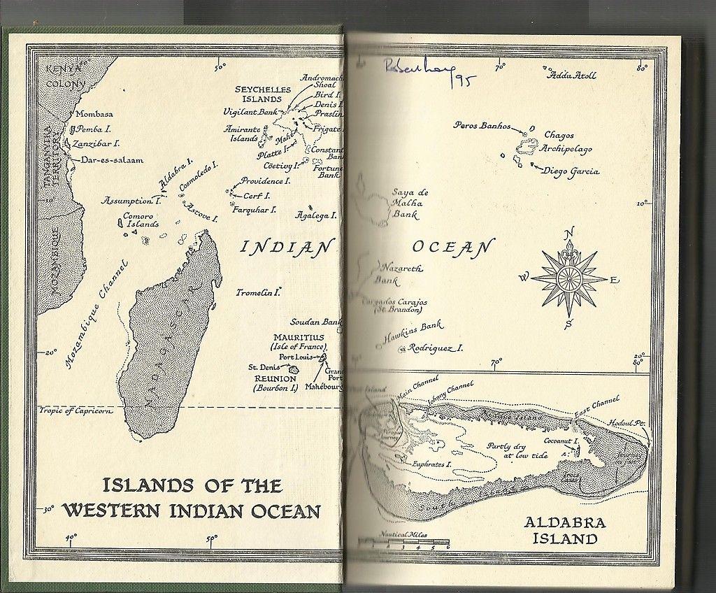 Map Islnads Eastern Indian