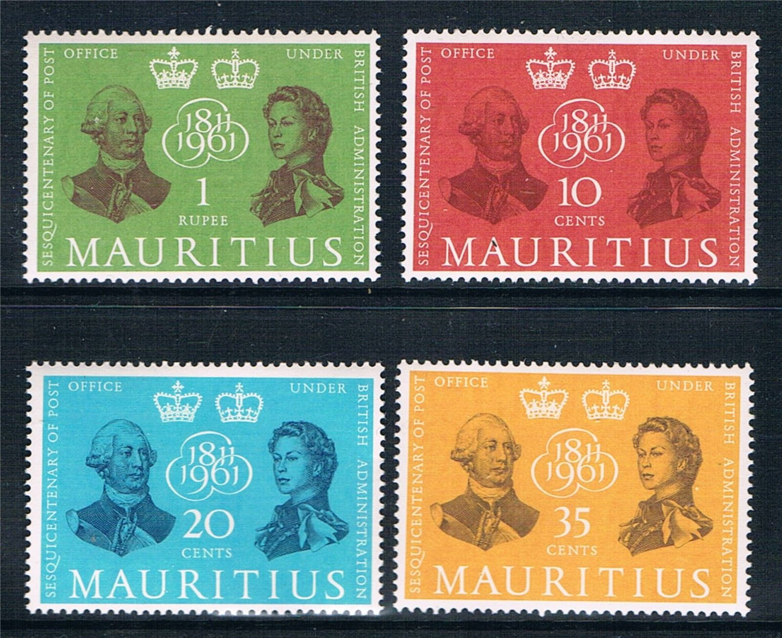 Mauritius PO 1961