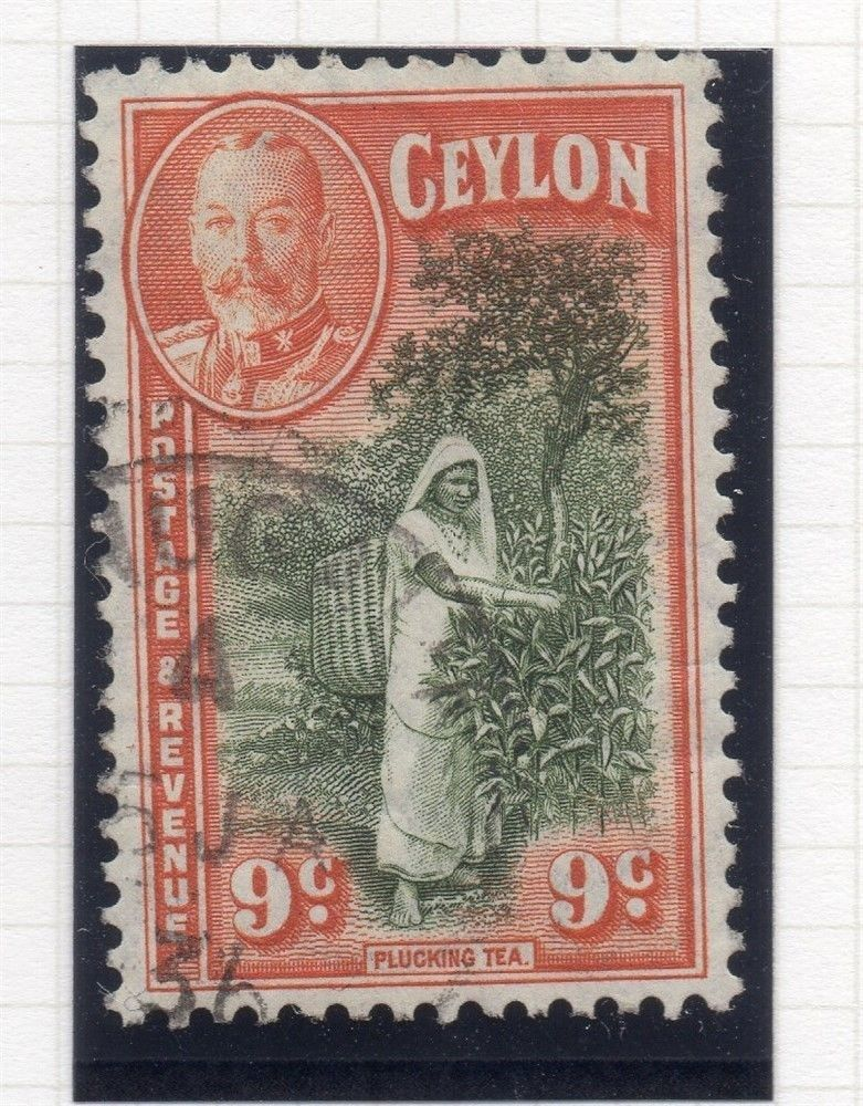 Stamp Curiosities: Tapping Rubber in Ceylon