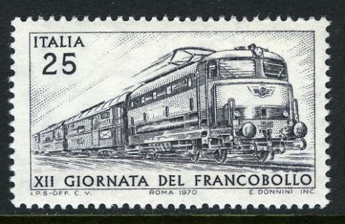 Italy mail train 1970