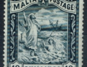 Malta 1889 10s.