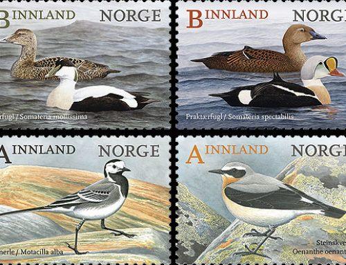 Stamps of Norway: Birds II (2015)